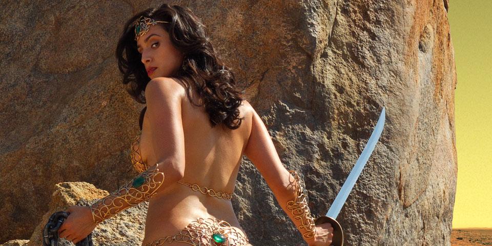 Can Princess of mars dejah thoris cosplay charming