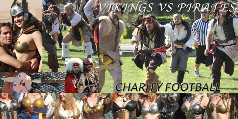 Vikings vs Pirates Charity Football